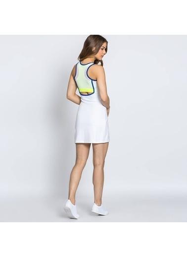Askılı Mini Kalem Elbise-Lacoste